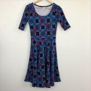 [Lularoe] Nicole Black Dress